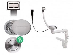 Der automatische Pop-up rechteckig Raumsparsiphon für Spüle