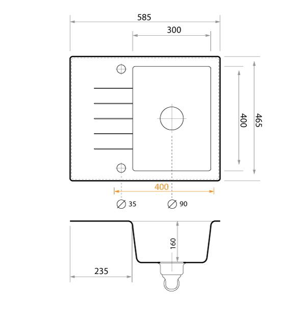 Technische Zeichnung Mailand
