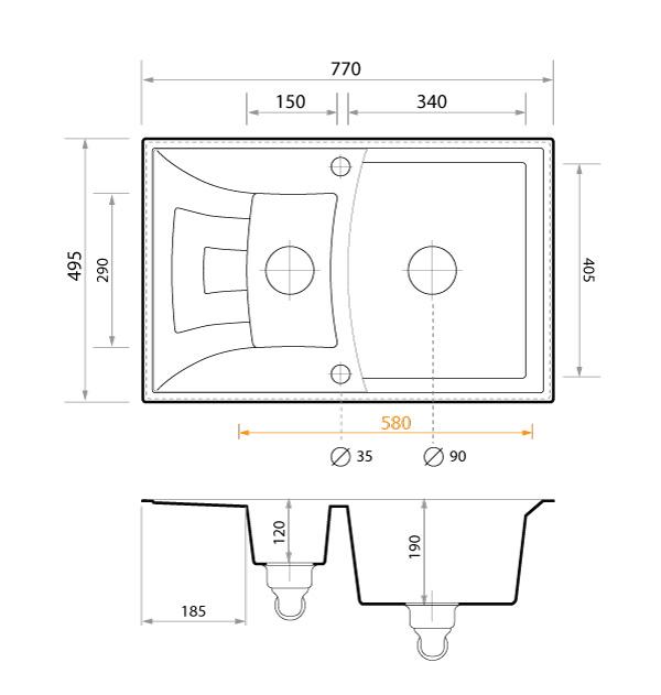 Technische Zeichnung Valencia 15